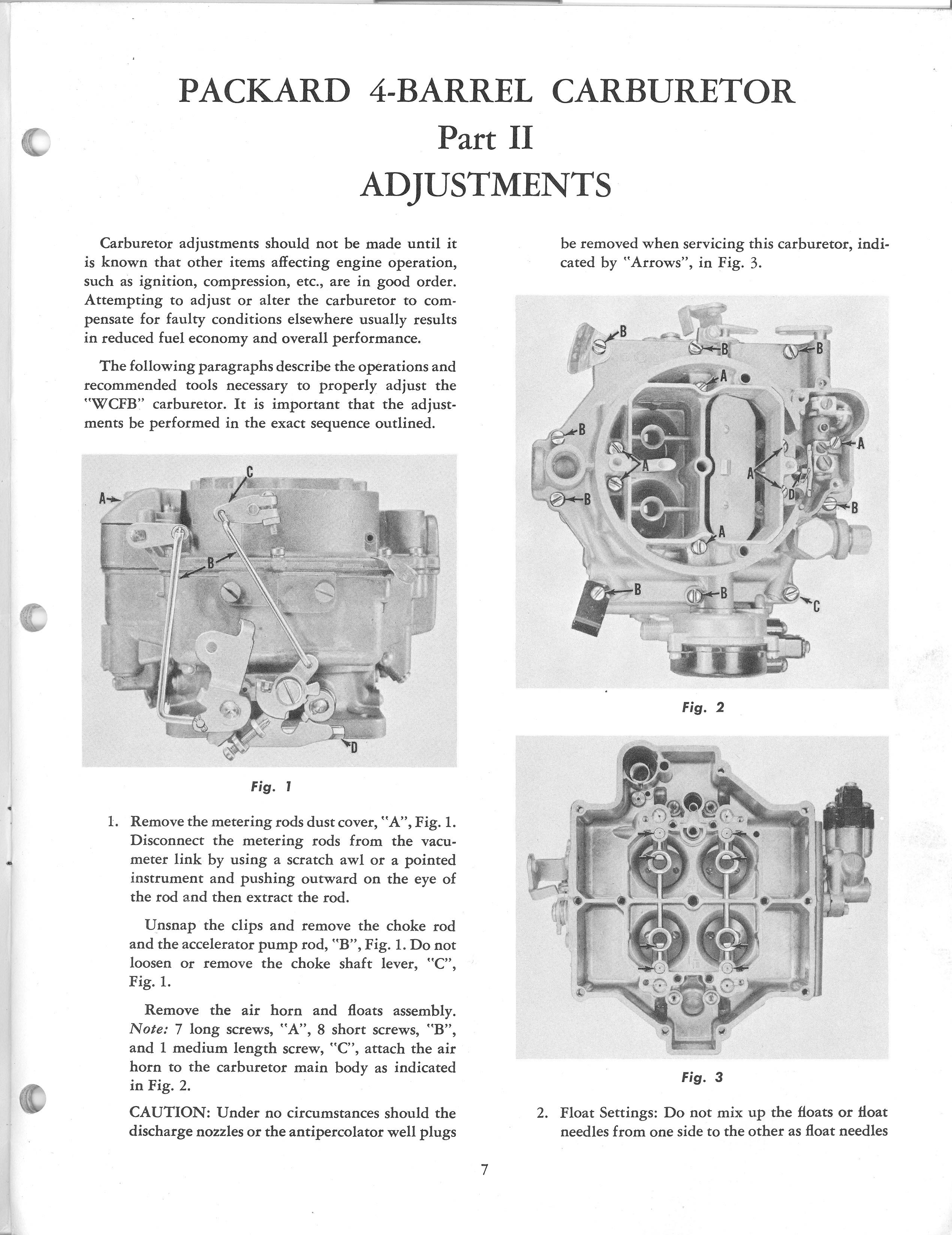 1953 Packard Carter WCFB Manual / Packard 4-Barrel0007 jpg
